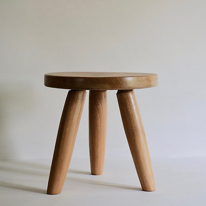 Small Stool in Elm