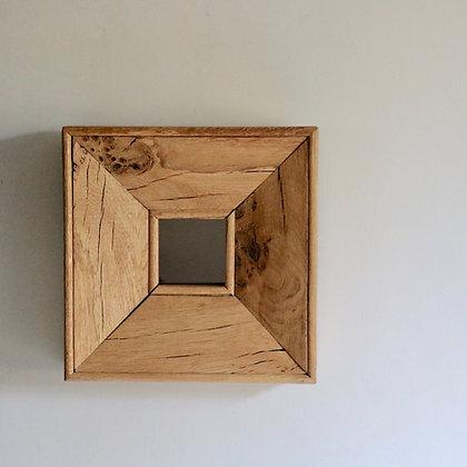 Mirror in Rustic Oak Frame