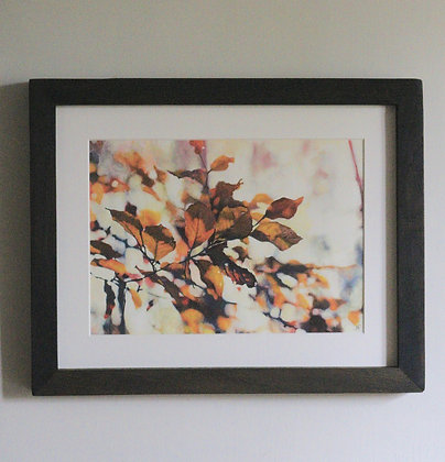 'Autumn Beech Leaves' Painting