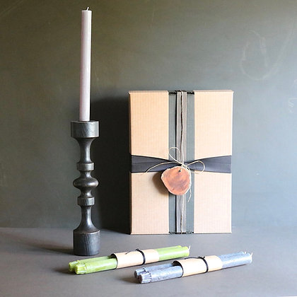 'Solvig' Candlestick Gift Box