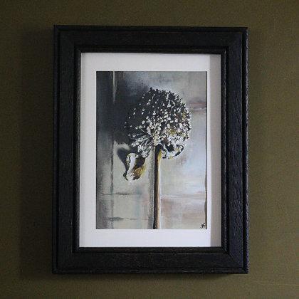 'Allium Head' Painting