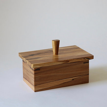 Butter Box in Spalted Beech