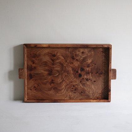 Simple Tray in Rustic Elm