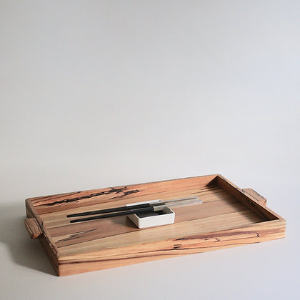 Simple Tray in Spalted Beech - Large