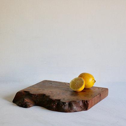 Display / Serve Board in English Elm with Live Edge - Small