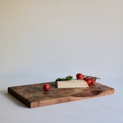 Serve / Display board in English Elm with Live Edge - Large