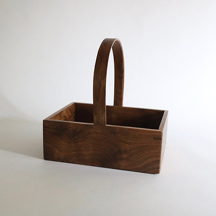 'Carol' Storage Trug in Walnut