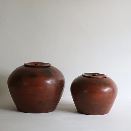 Terracotta Display Jars