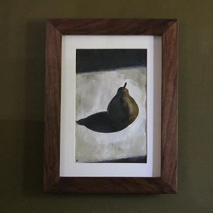 'Single Pear' Painting