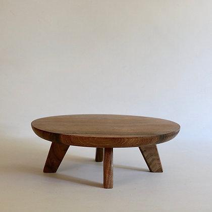 'Cake' Table in Walnut