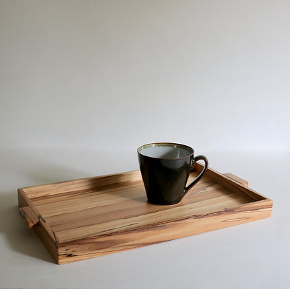 Simple Tray in Spalted Beech