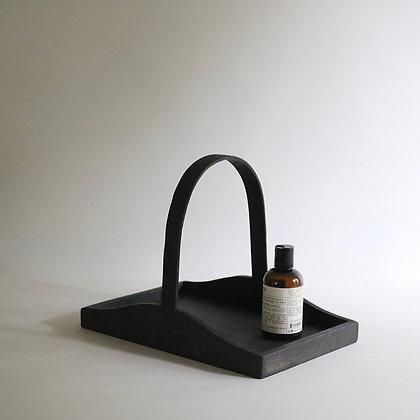 'Claudia' Trug/Tray in Blackened Oak - Small