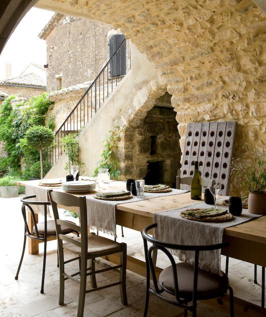 summer kitchen and garden