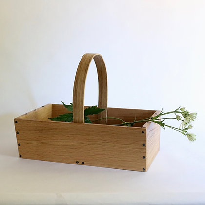 'Plant' Trug in Oak