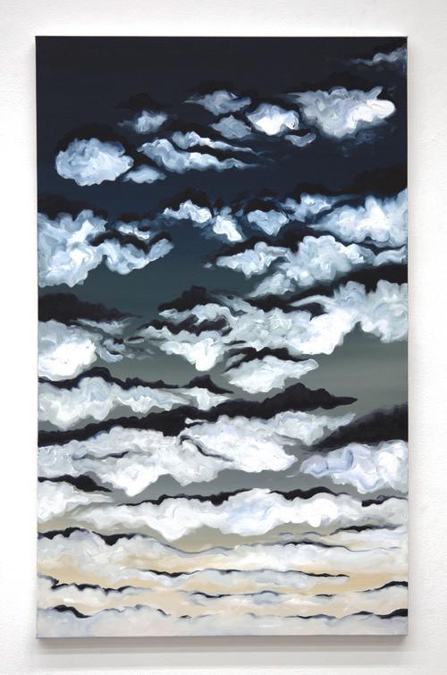 Upside down clouds