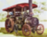 Julie a beautiful little steam engine
