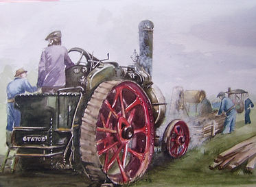 Andy Potter traction engine