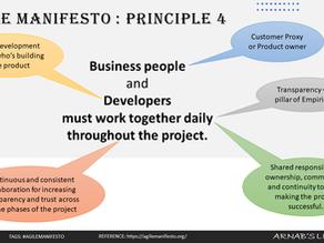 Agile Manifesto: Principle #4