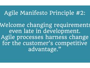 Agile Manifesto: Principle #2