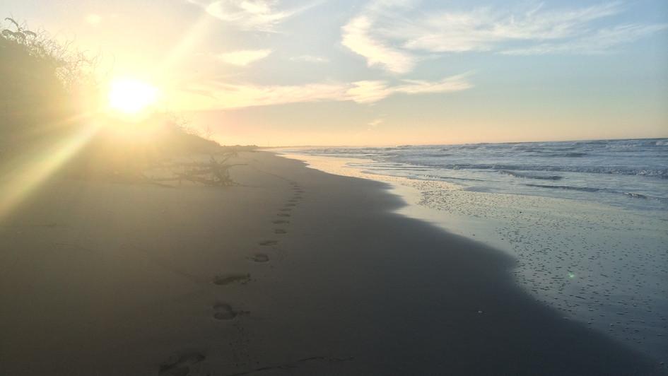Sandy Footprints