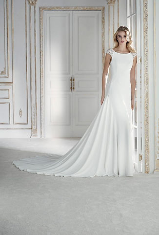 Palacio Noce Blanche Robes de mariée Bordeaux