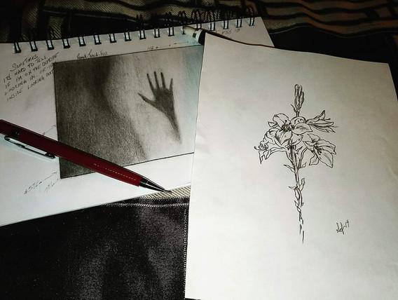 """Late Night Sketch"""