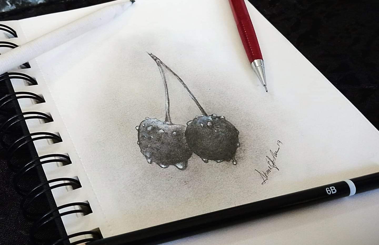 """""""Cherries Sketch"""""""