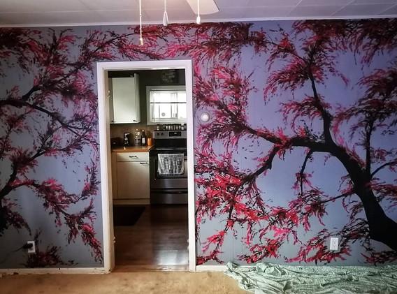 """""""Japanese Mural"""""""