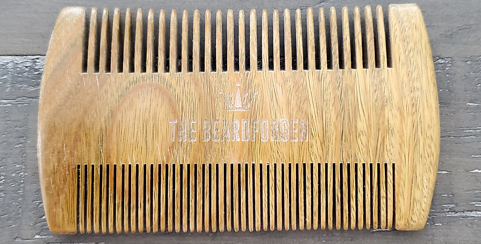 Green Sandalwood Dual Comb