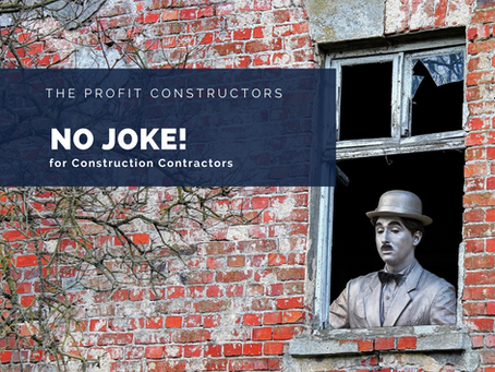 No Joke – It's a Construction Project