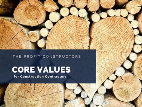 Improving Your Core Values Score