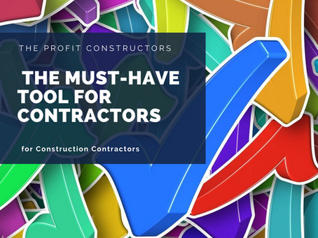 The Must-Have Tool for EVERY Construction Contractor