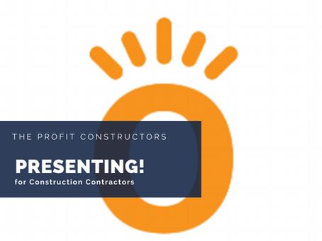 The Profit Constructors Presents