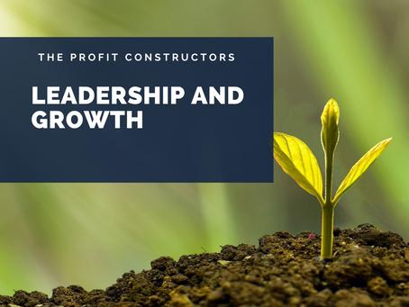 Leadership Means Growing – part 5