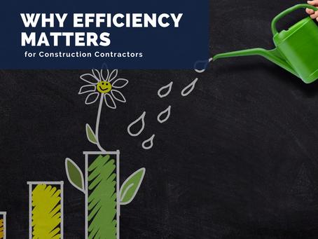 Efficiency Matters