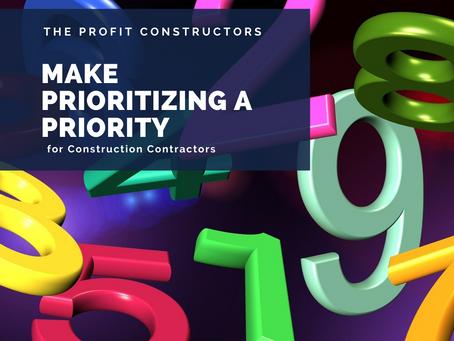 Make Prioritizing a Priority