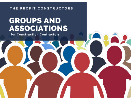 Professional and Personal Groups or Associations WOM series