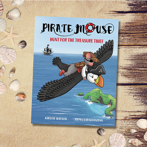 Pirate Mouse - Hunt For The Treasure Thief (Book 2)