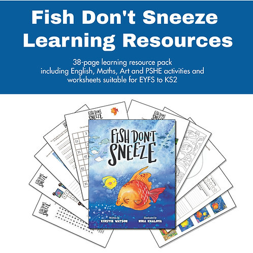 Fish Don't Sneeze Learning Resource Pack