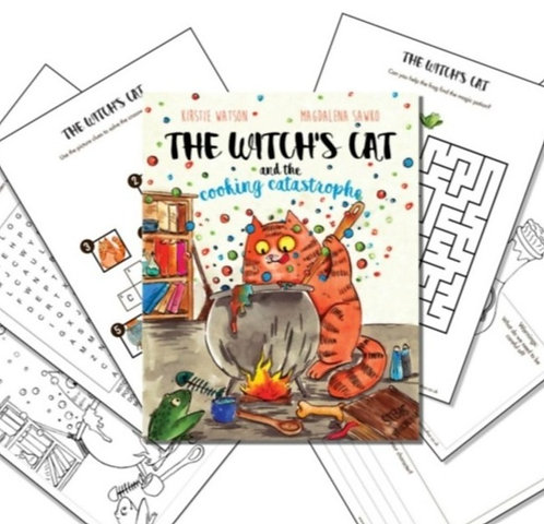 The Witch's Cat - Activity Pack