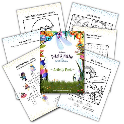 The Fairies - Petal & Nettle - Activity Pack