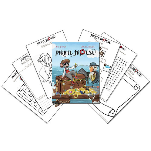 Pirate Mouse - Activity Pack