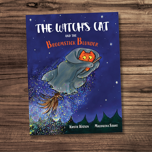 The Witch's Cat and The Broomstick Blunder