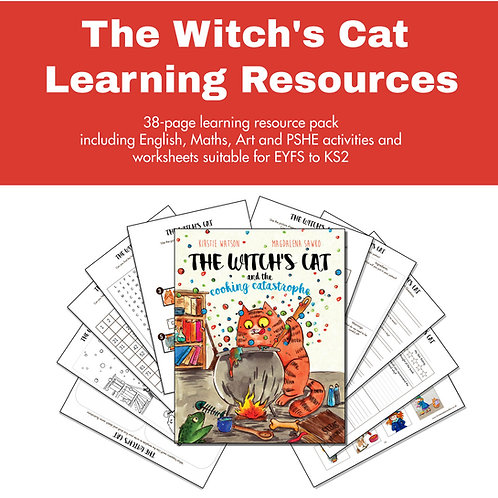 The Witch's Cat Learning Resource Pack