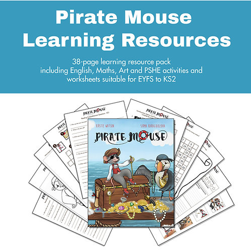 Pirate Mouse Learning Resource Pack