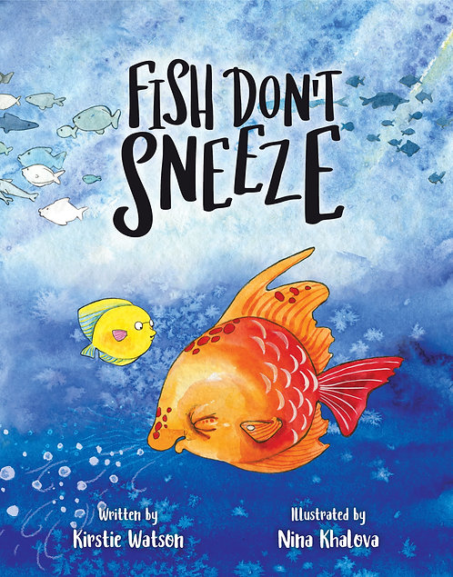 Fish Don't Sneeze - Paperback