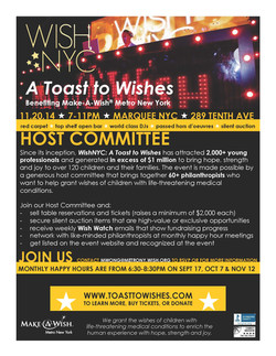 [ Make-A-Wish ] Toast to Wishes