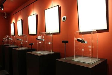 El museo contiene diferentes exposiciones de microminiaturas.Las obrasestánelaboradas a mano y están hechas sobre soportes minúsculos, como un grano de arroz,un grano de sal o el ode una aguja de coser. La mayor parte de las obras sólo se pueden apreciara través de un microscopio.