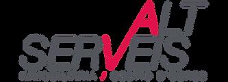 Logotipo de la inmobiliaria Alts Serveis. La entidad ofrece servicios inmobiliarios en Andorra y la Costa Brava-Barcelona.