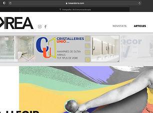 Creación de banners para la página web de la revista digital de tendéncias y actualidad de Andorra llamada Krea. La revista ha sido creada por la agencia de comunicación SC Comunicació, Andorra. Tres tipos de banner interactivos con redirección directa a páginas web, redes sociales, teléfonos, emails de contacto...
